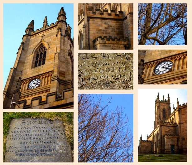 Old church in Sheffielld, England