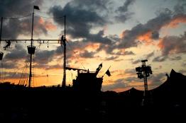 Pirate ship @ sunset